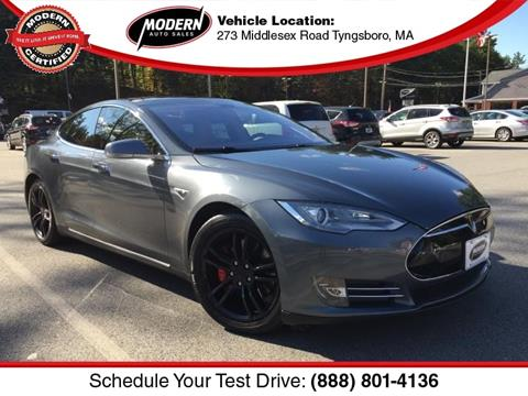 2014 Tesla Model S for sale in Tyngsboro, MA