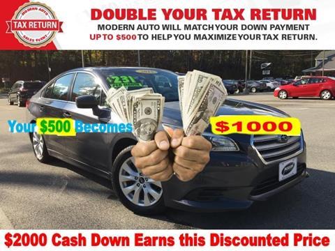 2015 Subaru Legacy for sale in Tyngsboro, MA