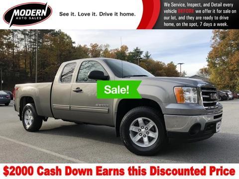 2012 GMC Sierra 1500 for sale in Tyngsboro, MA
