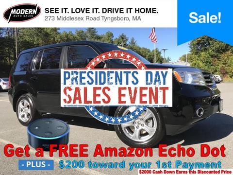 2013 Honda Pilot for sale in Tyngsboro, MA
