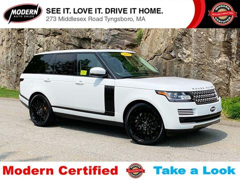 2016 Land Rover Range Rover for sale in Tyngsboro, MA