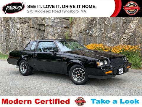 1987 Buick Regal for sale in Tyngsboro, MA