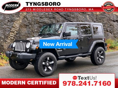 2017 Jeep Wrangler Unlimited for sale in Tyngsboro, MA