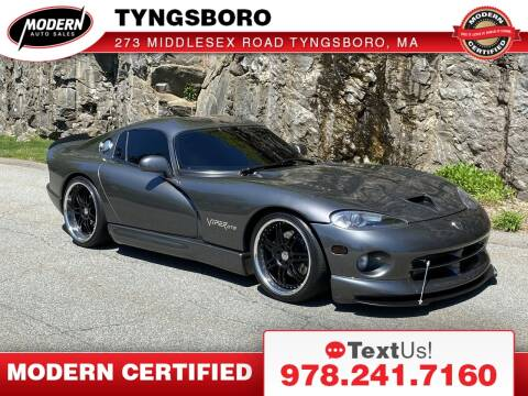 2002 Dodge Viper for sale at Modern Auto Sales in Tyngsboro MA