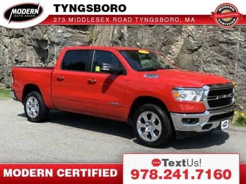 2020 RAM Ram Pickup 1500 for sale at Modern Auto Sales in Tyngsboro MA