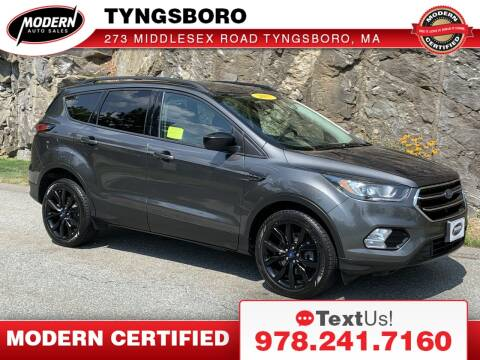 2017 Ford Escape for sale at Modern Auto Sales in Tyngsboro MA