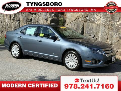 2011 Ford Fusion Hybrid for sale at Modern Auto Sales in Tyngsboro MA