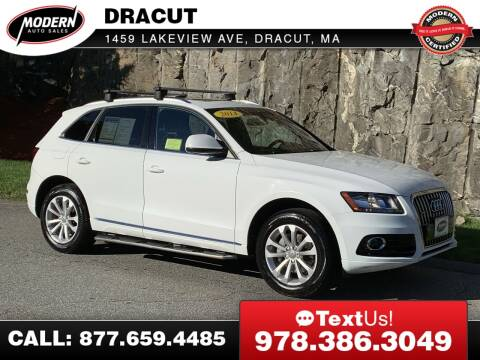 2014 Audi Q5 for sale at Modern Auto Sales in Tyngsboro MA
