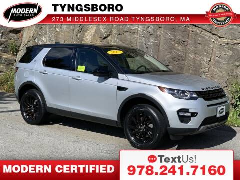 2017 Land Rover Discovery Sport for sale at Modern Auto Sales in Tyngsboro MA