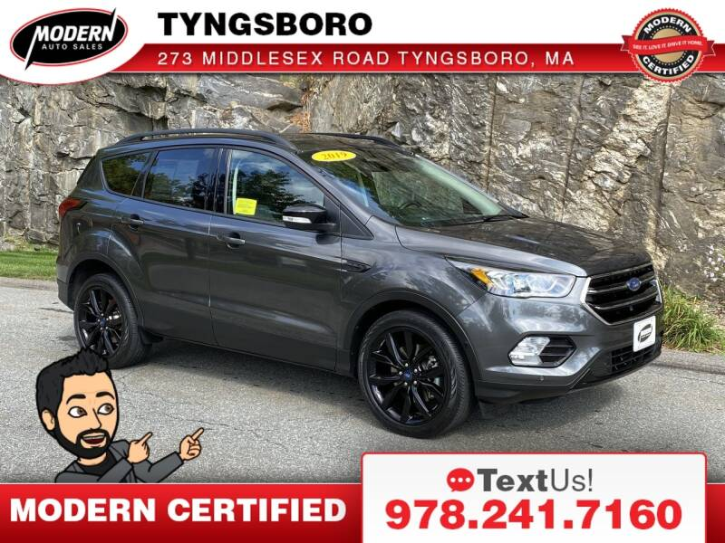 2019 Ford Escape for sale at Modern Auto Sales in Tyngsboro MA