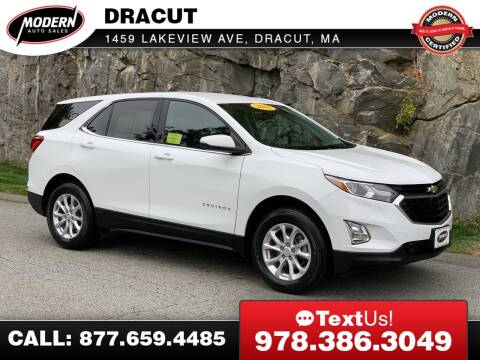 2018 Chevrolet Equinox for sale at Modern Auto Sales in Tyngsboro MA