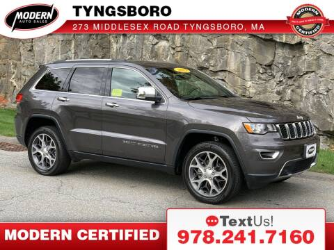 2019 Jeep Grand Cherokee for sale at Modern Auto Sales in Tyngsboro MA