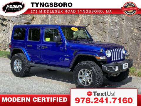 2020 Jeep Wrangler Unlimited for sale at Modern Auto Sales in Tyngsboro MA