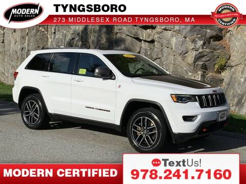 2017 Jeep Grand Cherokee for sale at Modern Auto Sales in Tyngsboro MA