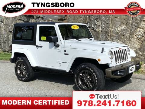 2016 Jeep Wrangler for sale at Modern Auto Sales in Tyngsboro MA