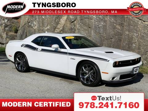2015 Dodge Challenger for sale at Modern Auto Sales in Tyngsboro MA