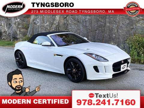 2017 Jaguar F-TYPE for sale at Modern Auto Sales in Tyngsboro MA