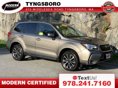 2017 Subaru Forester for sale at Modern Auto Sales in Tyngsboro MA