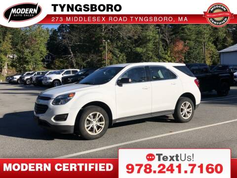 2017 Chevrolet Equinox for sale at Modern Auto Sales in Tyngsboro MA