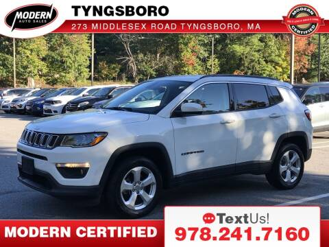 2017 Jeep Compass for sale at Modern Auto Sales in Tyngsboro MA