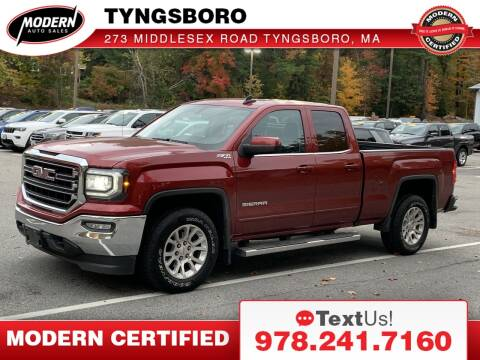 2018 GMC Sierra 1500 for sale at Modern Auto Sales in Tyngsboro MA