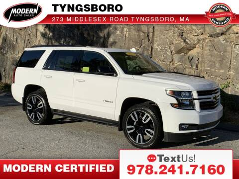 2019 Chevrolet Tahoe for sale at Modern Auto Sales in Tyngsboro MA