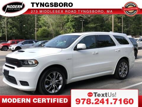 2020 Dodge Durango for sale at Modern Auto Sales in Tyngsboro MA