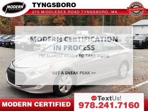 2013 Hyundai Sonata Hybrid for sale at Modern Auto Sales in Tyngsboro MA