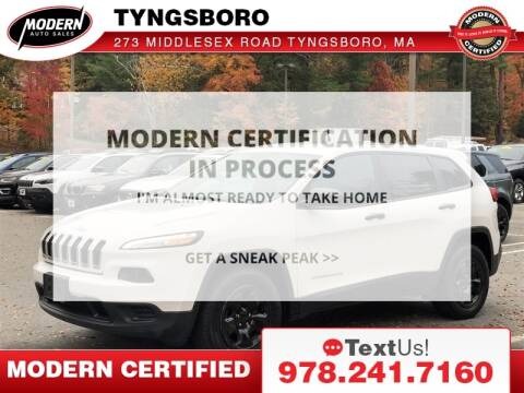2015 Jeep Cherokee for sale at Modern Auto Sales in Tyngsboro MA