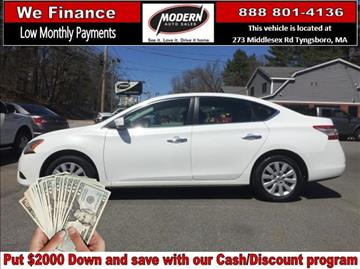 2014 Nissan Sentra for sale in Tyngsboro, MA