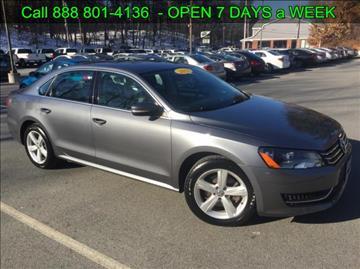2013 Volkswagen Passat for sale in Tyngsboro, MA