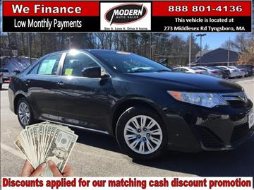 2012 Toyota Camry for sale in Tyngsboro, MA