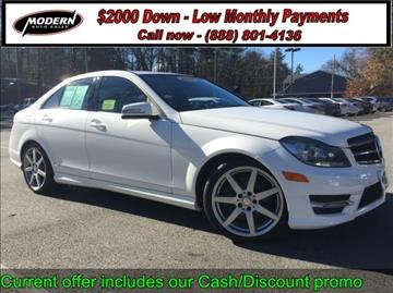 2014 Mercedes-Benz C-Class for sale in Tyngsboro, MA