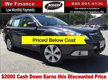 2012 Subaru Outback for sale in Tyngsboro, MA