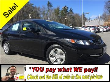 2013 Honda Civic for sale in Tyngsboro, MA