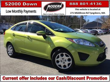 2013 Ford Fiesta for sale in Tyngsboro, MA