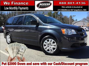 2014 Dodge Grand Caravan for sale in Tyngsboro, MA