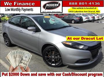 2015 Dodge Dart for sale in Tyngsboro, MA