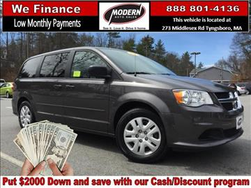 2015 Dodge Grand Caravan for sale in Tyngsboro, MA