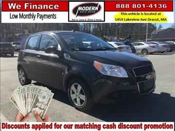 2009 Chevrolet Aveo for sale in Tyngsboro, MA