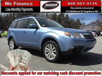 2012 Subaru Forester for sale in Tyngsboro, MA