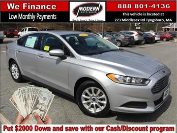 2016 Ford Fusion for sale in Tyngsboro, MA