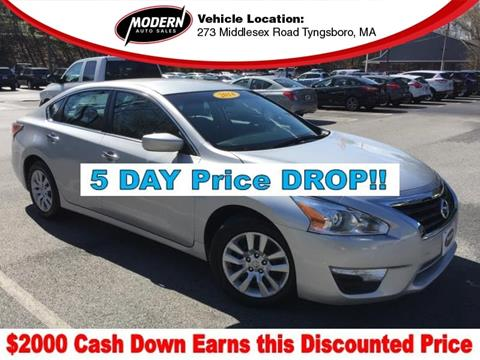 2014 Nissan Altima for sale in Tyngsboro, MA