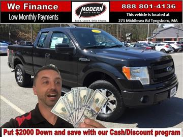 2013 Ford F-150 for sale in Tyngsboro, MA
