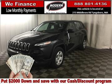 2014 Jeep Cherokee for sale in Tyngsboro, MA