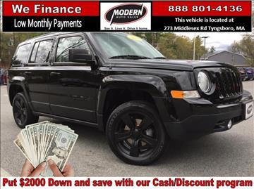 2014 Jeep Patriot for sale in Tyngsboro, MA