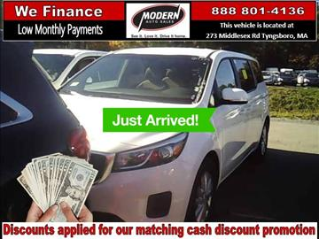 2017 Kia Sedona for sale in Tyngsboro, MA