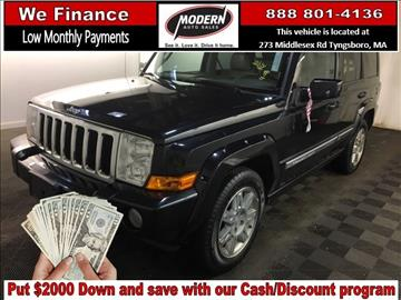 2010 Jeep Commander for sale in Tyngsboro, MA