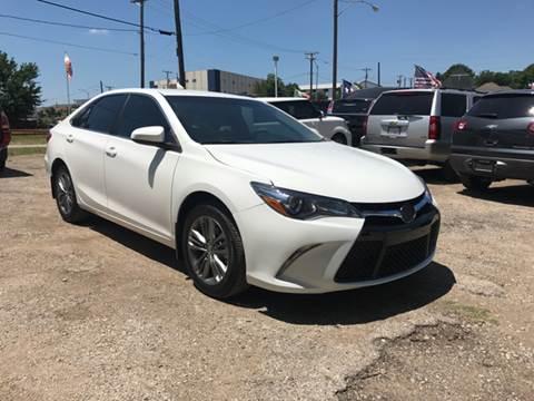2016 Toyota Camry for sale at LLANOS AUTO SALES - JEFFERSON in Dallas TX