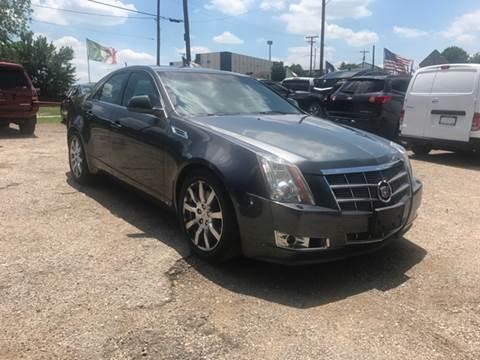 2008 Cadillac CTS for sale at LLANOS AUTO SALES - JEFFERSON in Dallas TX